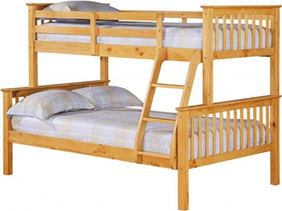 Product photograph showing Porto Triple Bunk Bed