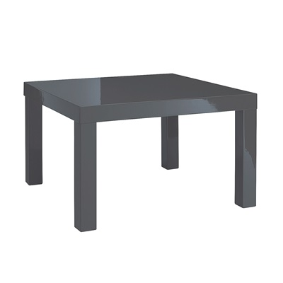 Product photograph showing Puro End Table Charcoal