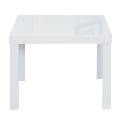 Product photograph showing Puro End Table White