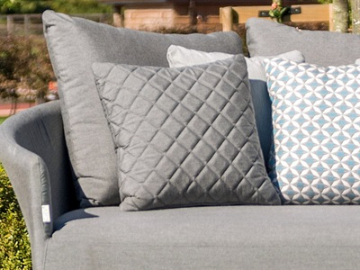 Product photograph showing Pair Of Quilted Scatter Cushions