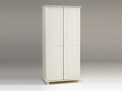 Steens Richmond White Wardrobe Flat Packed Wardrobe