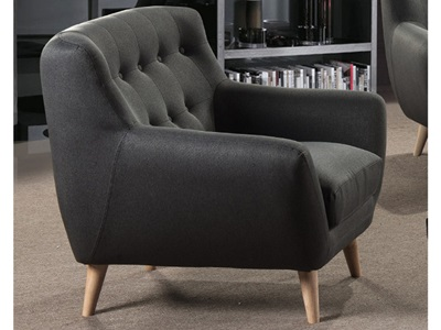 Product photograph showing Rihanna Fabric 1 Seater