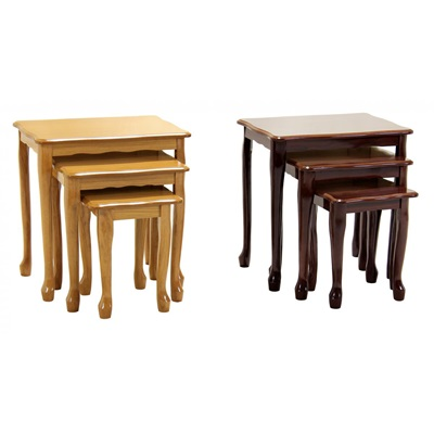 Product photograph showing Robin Gloss Nest Of Tables