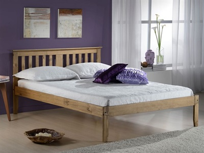Birlea Salvador 3 Single Pine Wooden Bed