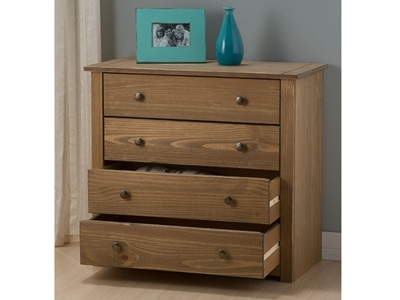 Product photograph showing Santiago 4 Drawer