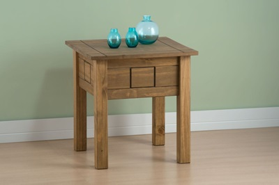 Product photograph showing Santiago Lamp Table