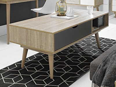 Product photograph showing Scandi Coffee Table