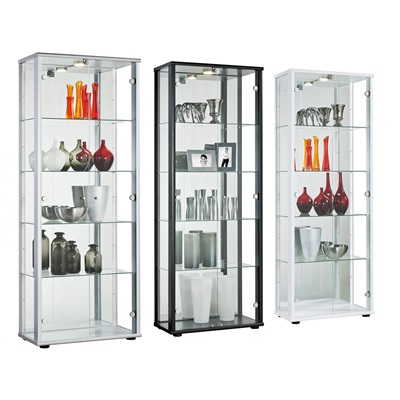 Product photograph showing Selby 2 Door Display Cabinet