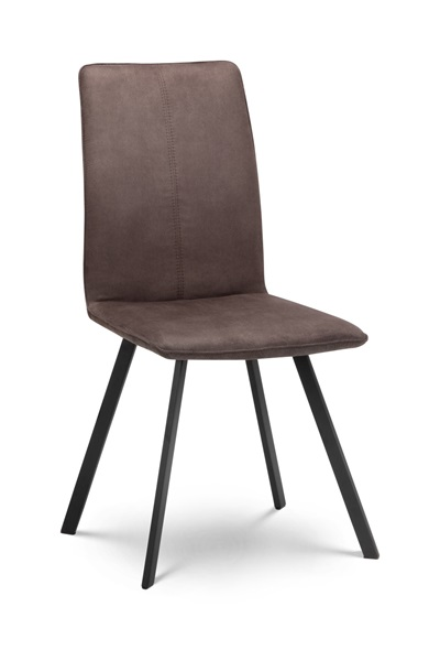 Product photograph showing Set Of 2 Monroe Fabric Dining Chairs