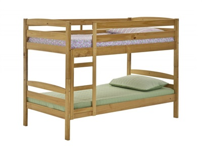 Verona Design Ltd Shelley Bunk 3 Single Antique Bunk Bed Bunk Bed