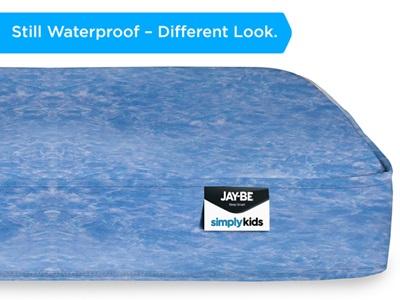 JAY_BE Simply Kids Waterproof Anti-Microbial Foam Free Sprung Open Coil Mattress