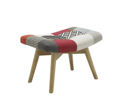 Product photograph showing Sloane Stool Patched