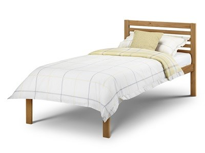 Julian Bowen Slocum 3 Single Natural Wooden Bed