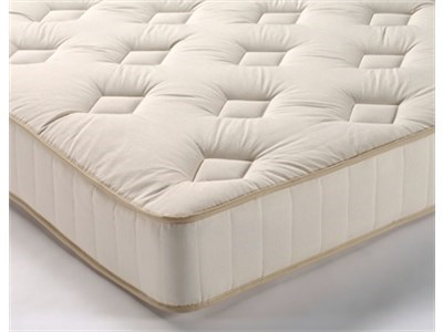 Snuggle Beds King Cotton (Natural Collection) 3 Single Mattress