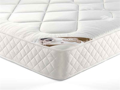 Snuggle Beds Snuggle Damask Quilt 4 6 Double Mattress Only Mattress