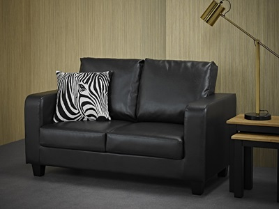 Product photograph showing Sofa In A Box Black