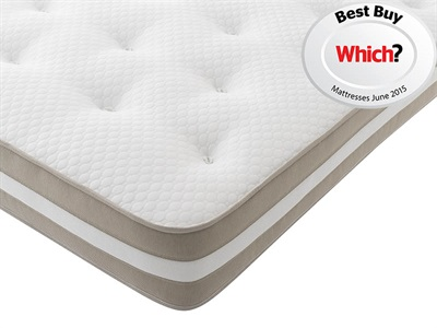 Silentnight Sofia 4 6 Double Mattress Only Mattress
