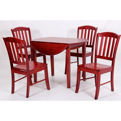 Product photograph showing Southall Dropleaf Dining Set Natural
