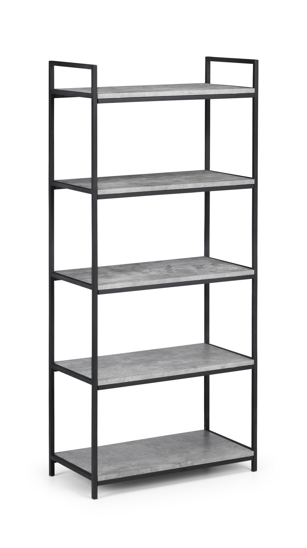 Product photograph showing Staten Tall Concrete Bookcase