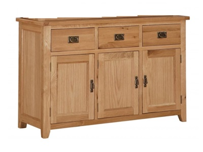 Product photograph showing Stirling Buffet 3 Doors And 3 Drawers