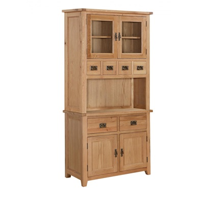 Product photograph showing Stirling Hutch With 2 Doors