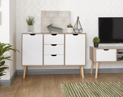 Product photograph showing Stockholm Sideboard
