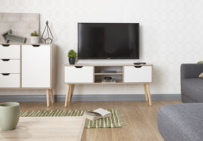 Product photograph showing Stockholm Tv Cabinet