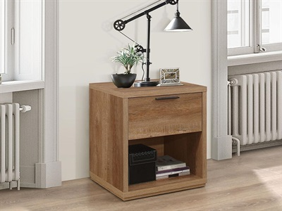 Product photograph showing Stockwell 1 Drawer Bedside