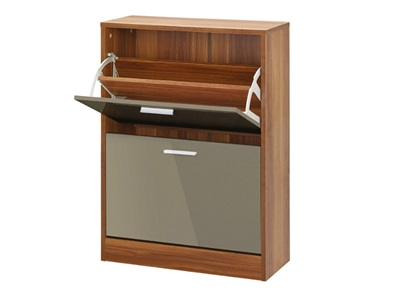 Product photograph showing Strand 2 Drawer Shoe Storage