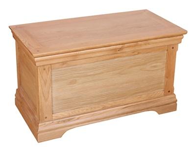 Balmoral Sussex Blanket Box Antique Assembled Blanket Box