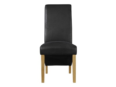 Product photograph showing Treviso Chair Black Pack Of 2