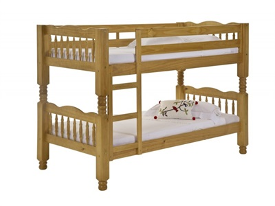 Verona Design Ltd Trieste 3 Single Antique Bunk Bed Bunk Bed