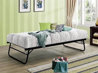 Birlea Trundle Bed 3 Single Black Stowaway Bed