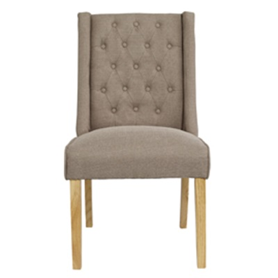 Product photograph showing Verona Chair Beige Pack Of 2
