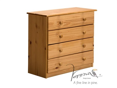 Verona Design Ltd Verona 4 Drawer Chest Antique Drawer Chest