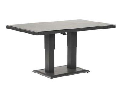 Product photograph showing Vogue Aluminium Rising Table