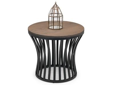 Product photograph showing Washington Round Lamp Table