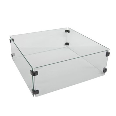 Product photograph showing Wind Guard For The Albany Fire Pit