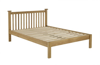 Product photograph showing Woburn 3 Drawer Bedside Oak 38 X 45 X 65 Cm