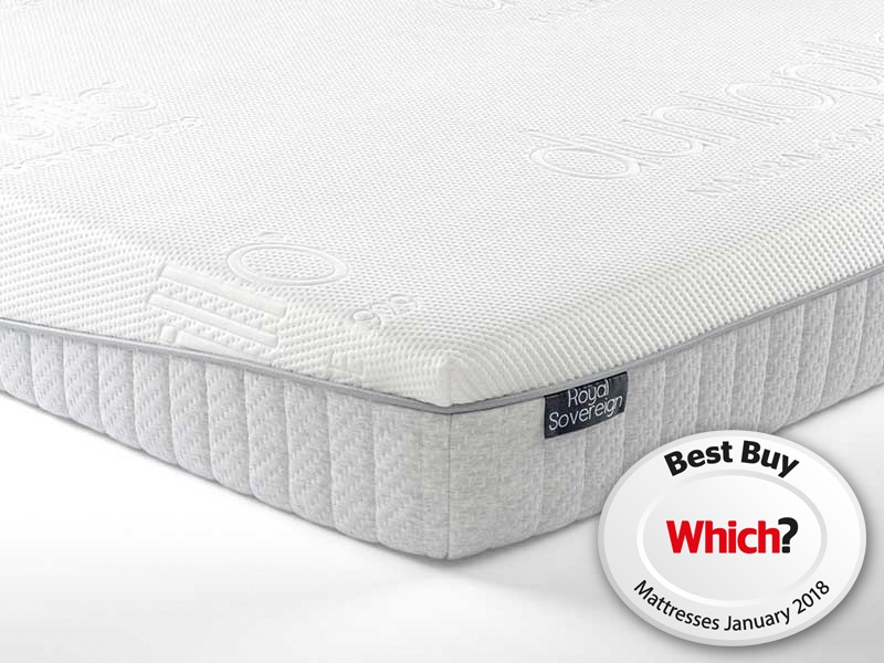 Dunlopillo Royal Sovereign 4\' 6 Double Mattress Image0 Image