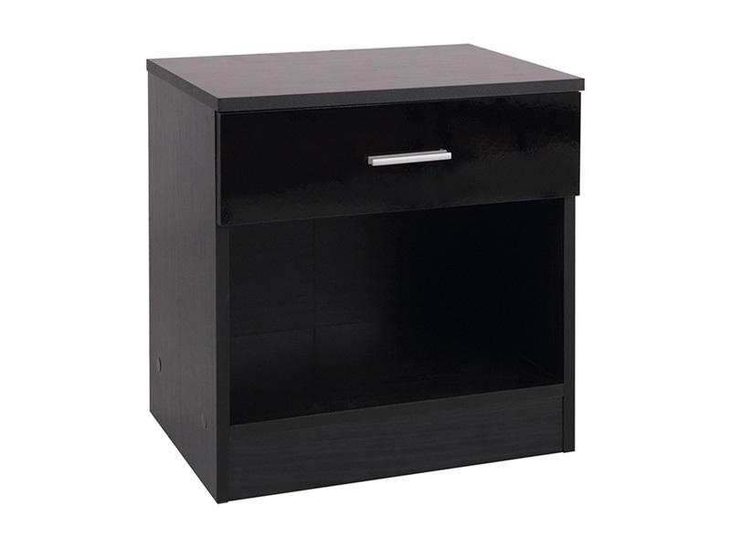 Ottawa 1-Drawer Bedside Table Main Image