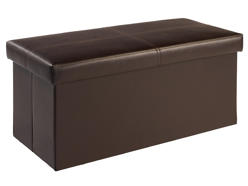 LPD Furniture Madrid Medium Storage Stool Blanket Box Image0 Image