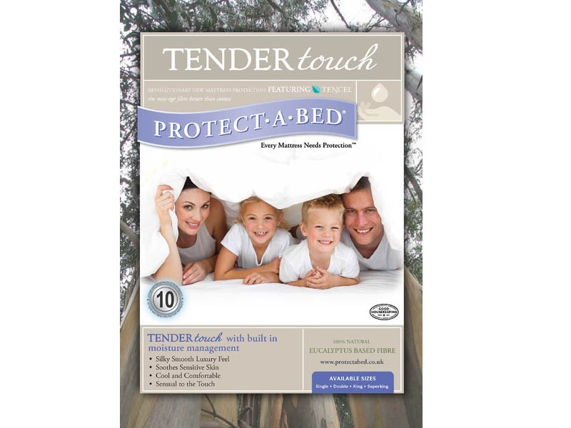 Protect_A_Bed Tendertouch Protector 6\' Super King Protector Image0 Image
