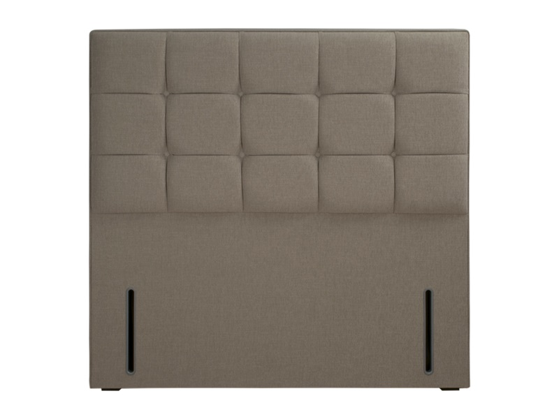 Hypnos Grace - Euro Slim 3\' Single Imperio Biscuit Headboard Only Fabric Headboard Image0 Image