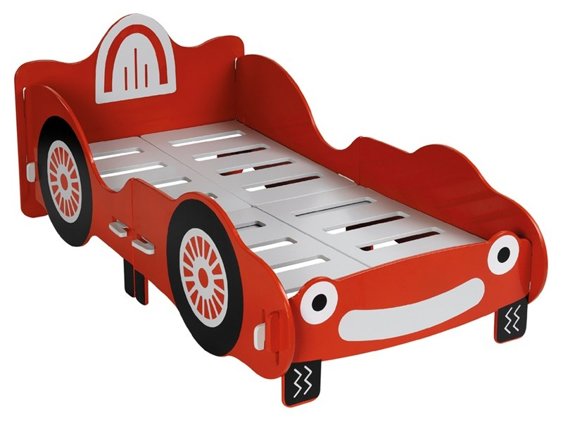 Kidsaw Racing Car Junior Bed 2\' 6 Small Single Kids Bed Image0 Image
