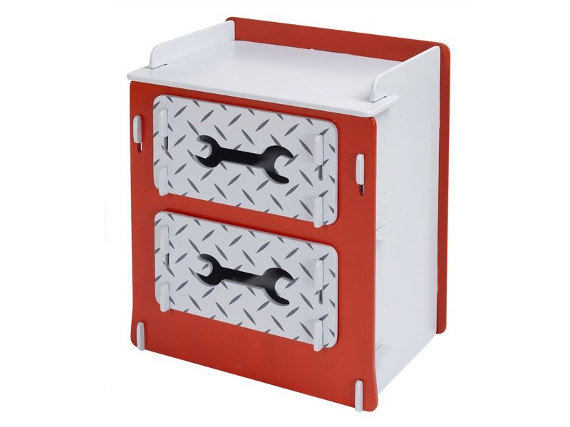 Racing Car Drawer Chest Main Image