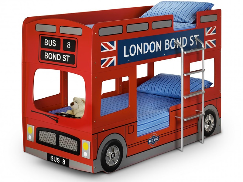 London Bus Bunk Bed Main Image