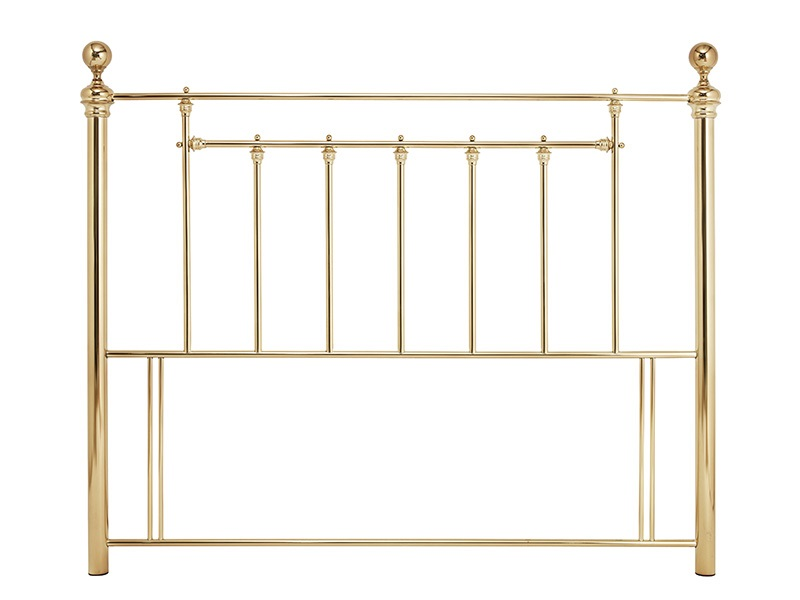 Serene Furnishings Benjamin 6\' Super King Brass Metal Headboard Image0 Image