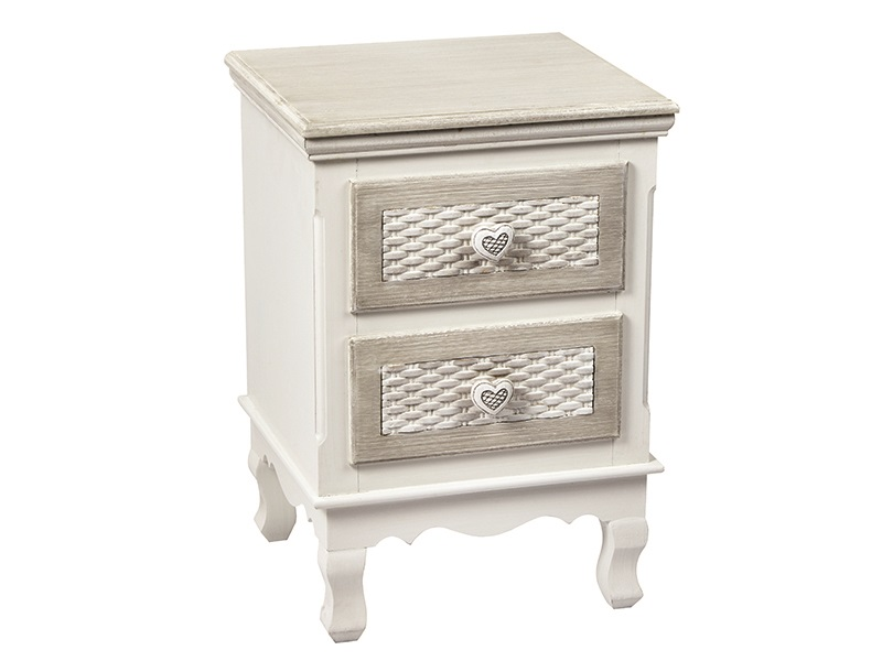 LPD Furniture Brittany 2 Drawer Bedside Chest Image0 Image