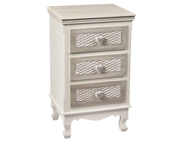 Furniture Express Brittany 3 Drawer Bedside Chest Image0 Image